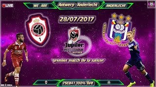 Antwerp vs Anderlecht full match