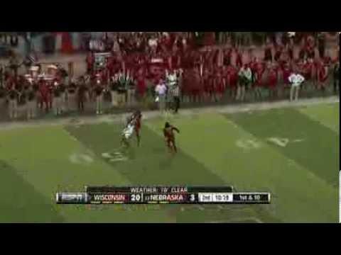 2012 Big Ten Football Wisconsin vs Nebraska