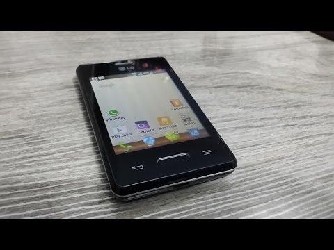 LG Optimus L3 II - Unboxing e Primeiras Impressões