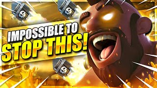 DELETE THIS DECK!! #1 UNSTOPPABLE HOG RIDER DECK IN CLASH ROYALE!! 🏆