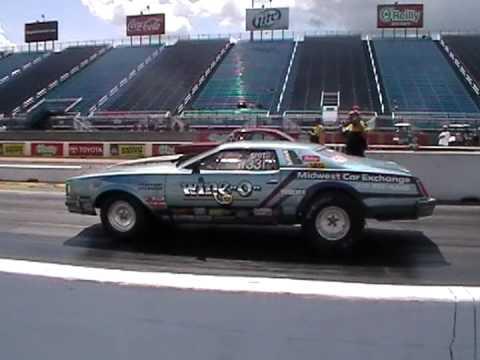 Drag Racing 1976 Buick Regal At Rt 66 Youtube