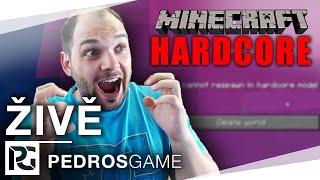 Pedro hraje Minecraft Hardcore | ŽIVĚ