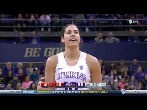 Washington Husky: Kelsey Plums record setting 57 points historic NCAA Record vs. UTAH