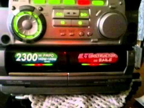 minicomponente aiwa nsx-5708