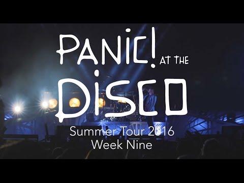 Panic! At The Disco - Summer Tour 2016 (Week 9 Recap)