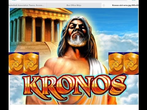 Kronos Slot Machine 25 Spins Bonus Big Win Youtube