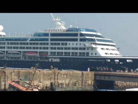 Chennai harbour entry
