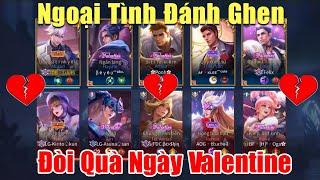 [Gcaothu] Ngoại tình ngày Valentine khi biệt đội tình nhân tương tàn vì đòi quà - Đánh ghen tập thể
