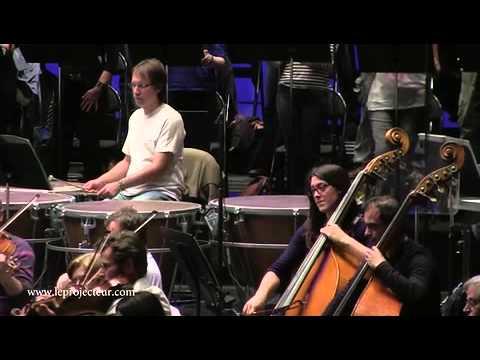 La Straniera à l'Opéra de Marseille : Au moment des répétitions