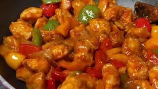 Healthy Baked Chili Chicken I Restaurant Style Chili Chicken Recipe