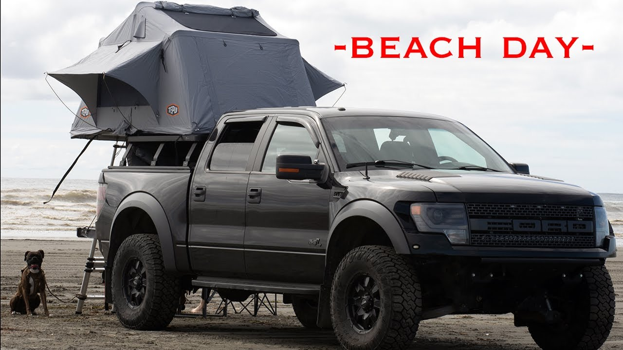 Beach Day 2020 with the Raptor #oceanshores #ford #raptor