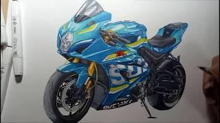 Drawing SUZUKI GSX-R1000R(L7) 2017(ไทย)