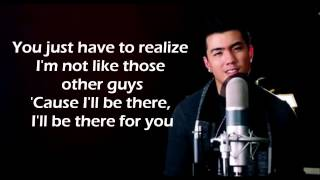 Be There- Joseph Vincent (Lyrics)