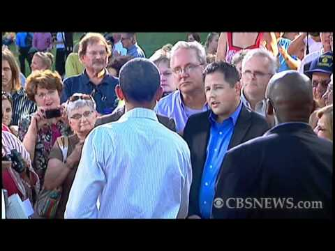 Obama and Tea Party spar at Iowa town hall