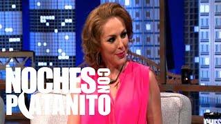 Erika de la Rosa y Oscar Traven en Noches con Platanito