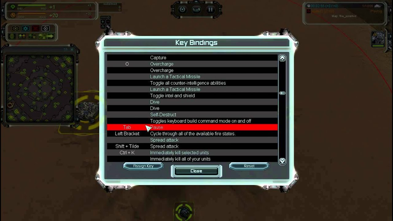 Setting up Hotkeys + UI - Supreme Commander: Forged Alliance Forever ...