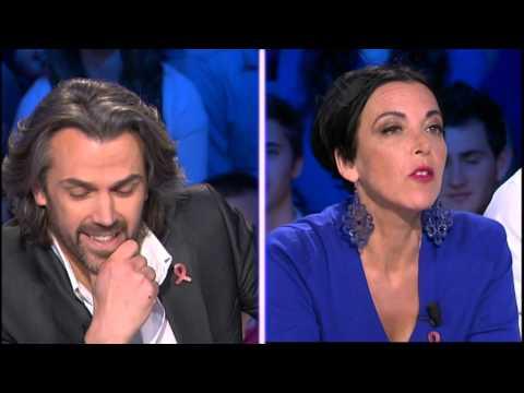 """""""J'ai détesté votre livre"""" Caron face à Marcela Iacub On n'est pas couché 05/04/2014 #ONPC"""