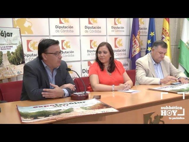 VÍDEO: La presentación de Expo Iznájar en la Diputación Provincial de Córdoba