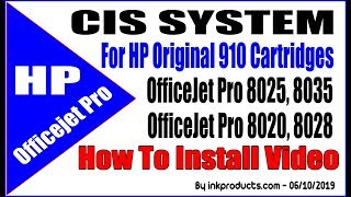 CIS For HP Officejet Pro 8025, 8020, 8028, 8035 Printers