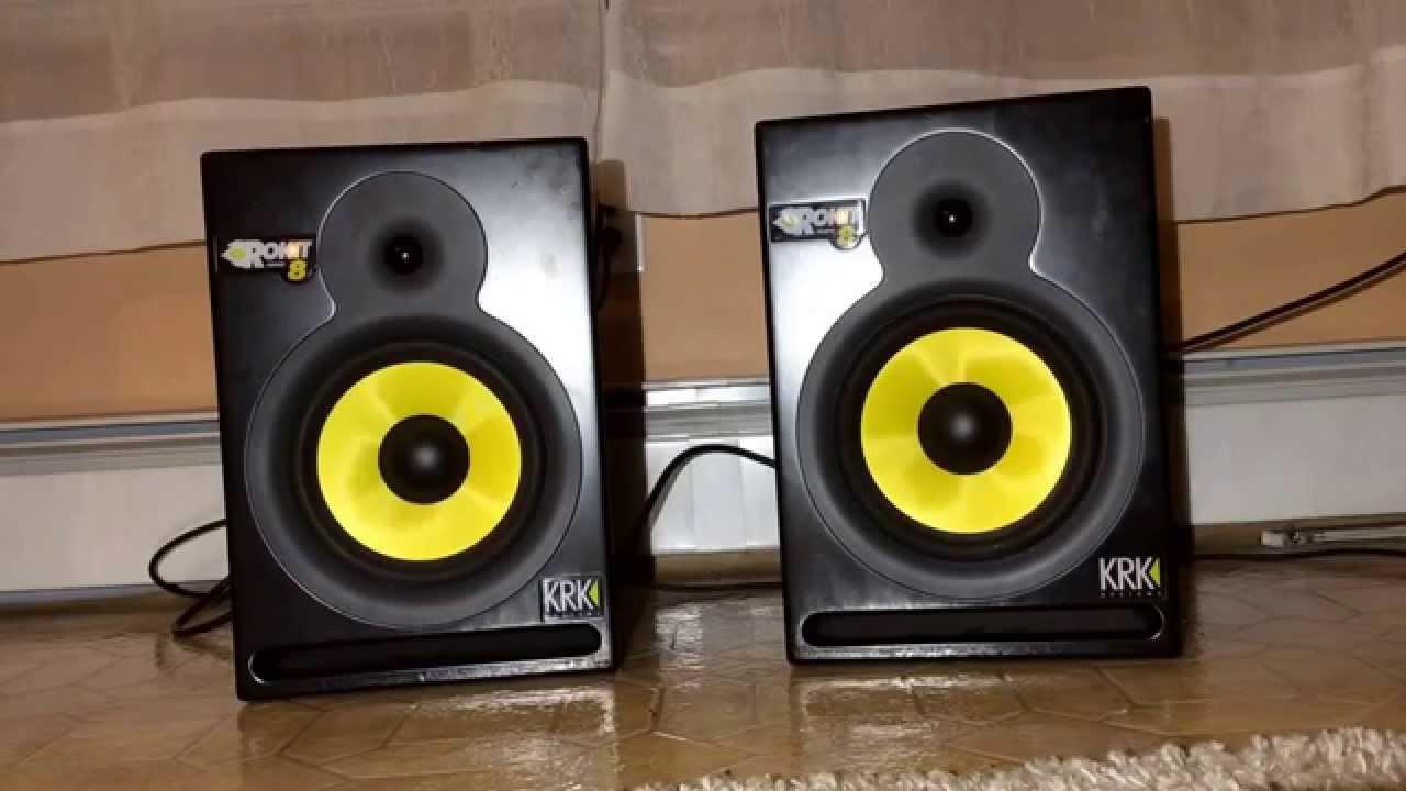 krk rokit 8 g1 powered speakers youtube. Black Bedroom Furniture Sets. Home Design Ideas