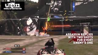 """Wheels of Destruction: World Tour """"Assassin"""" PSN Trailer"""