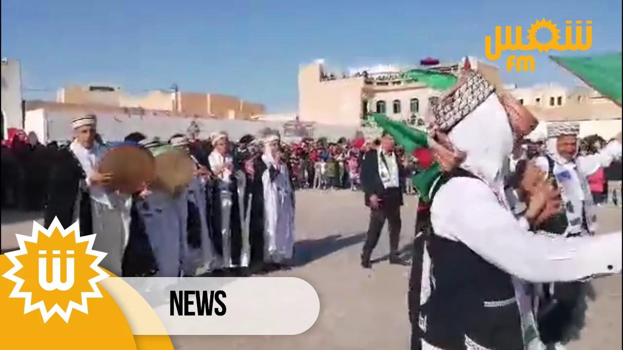 مقتطفات من إفتتاح المهرجان الدولي للصحراء بدوز في دورته ال 52