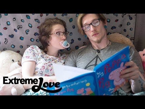 My Girlfriend Lives As A Toddler | EXTREME LOVE