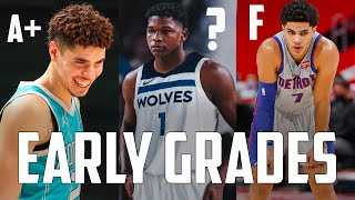 Grading EVERY 2020 Lottery Pick's First Month In The NBA...