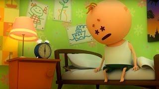 Аркадий Паровозов - Почему нужно соблюдать режим дня? - мультфильм детям