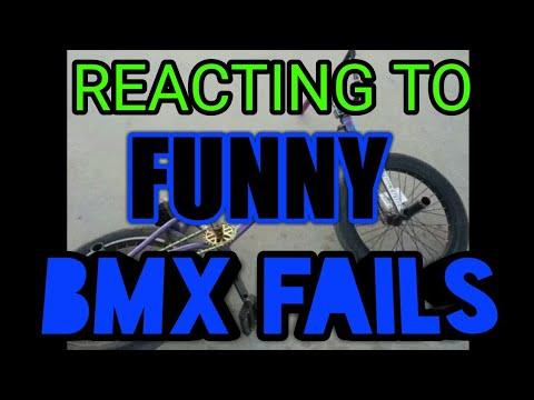 REACTING TO FUNNY BMX FAILS!!!