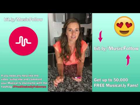 How To Get Free Musically Followers & Fans - New Method 2017 [Free Fans Musically]