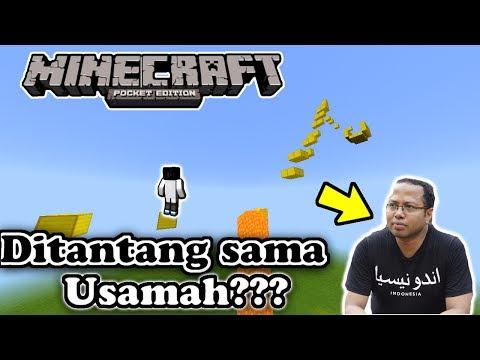 TANTANGAN DARI USAMAH??? PARKOUR MAP | Minecraft PE(Pocket Edition)[Bahasa Indonesia]