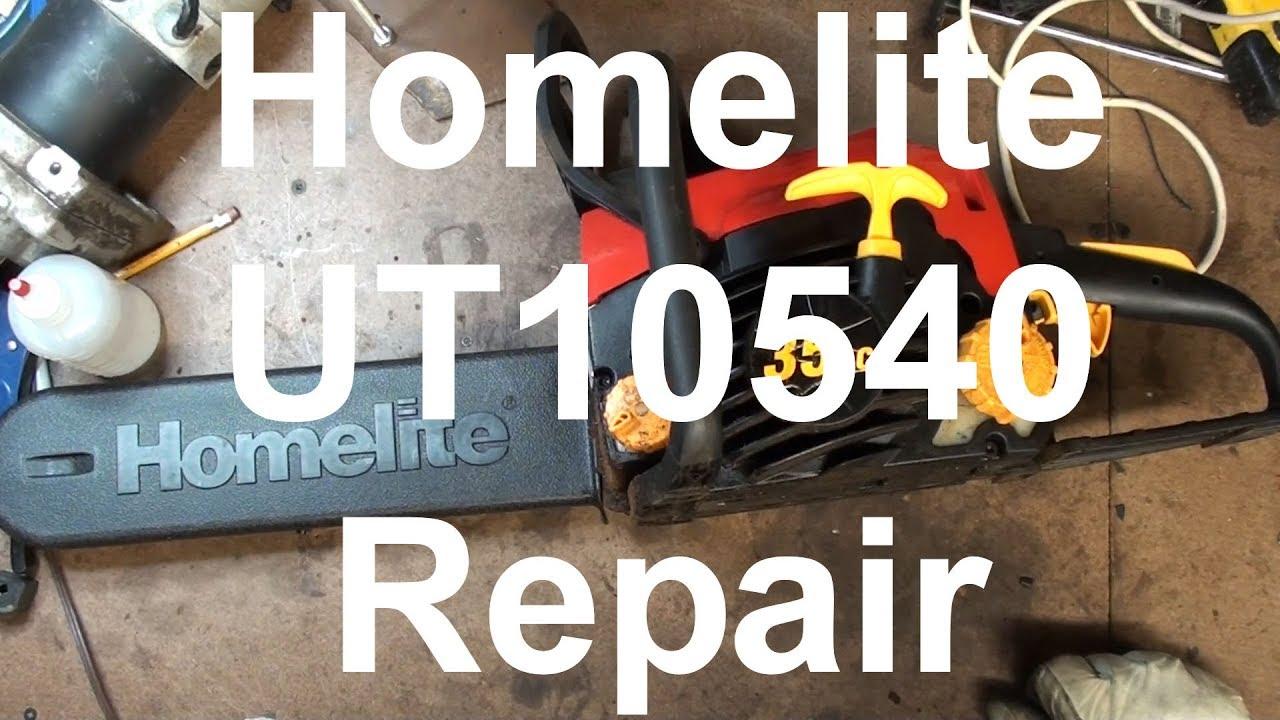 small resolution of homelite 35cc ut10540 chainsaw fuel line repair