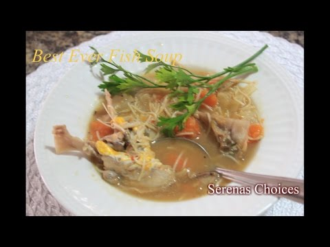 Fish soup recipe how to make the best ever fish soup for How to make fish soup