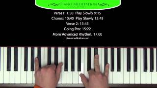 Indescribable - Chris Tomlin - How to Play on Piano