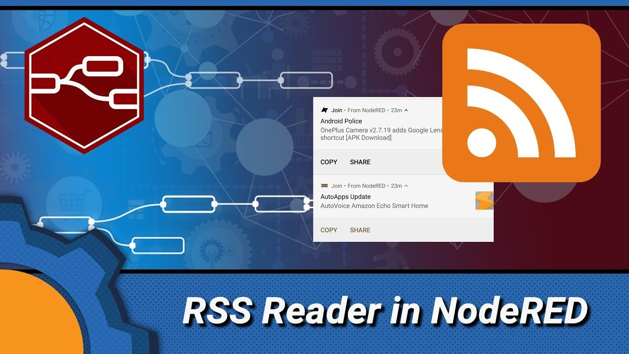 Make your own RSS Android reader with NodeRED and Join