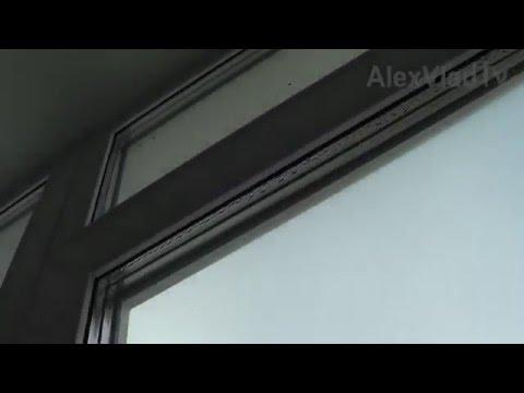 Регулировка балконной пластиковой(ПВХ) двери, режим зима. Нетрадиционный способ.