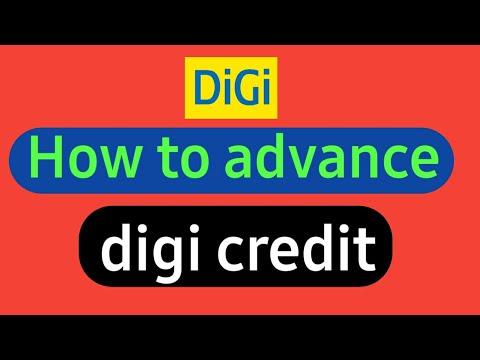 how to advance digi credit Digi sim card me advance kaise late hai in hindi