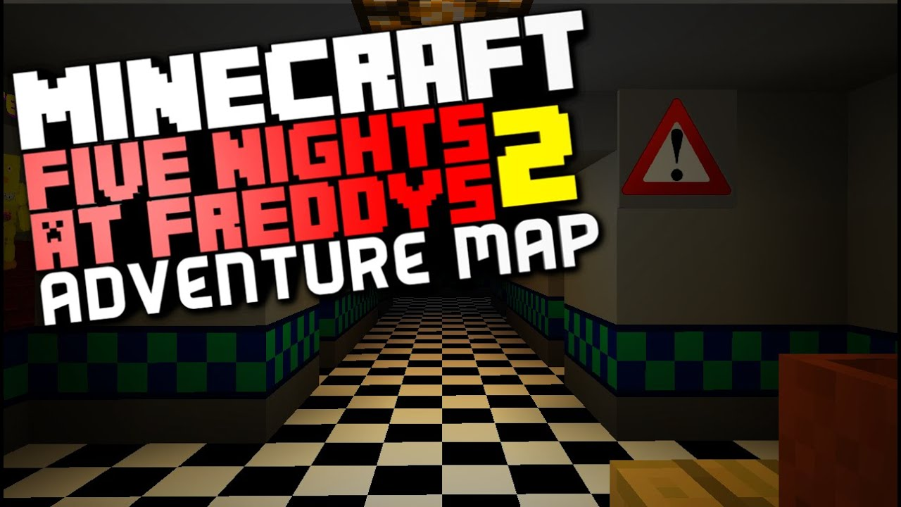 minecraft five nights at freddy's map