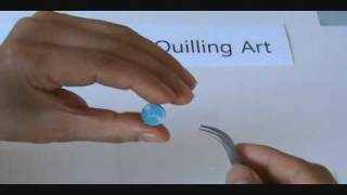 paper quilling  Basic Shapes & Techniques tutorial