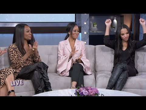 Bianca Lawson on Stepmom Tina Knowles Being a Morning Person