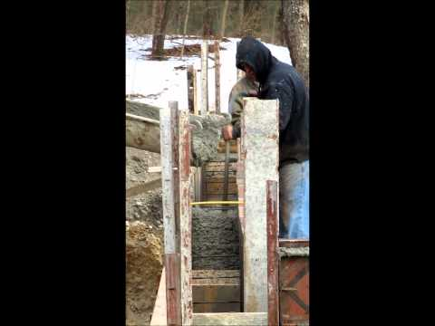 New Foundation for the Lowell Mason House