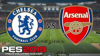 Chelsea vs Arsenal - UEFA Europa League Final 2019 - PES 2019