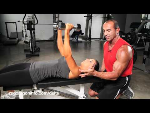 Beginner Workout: Front Deltoid Exercise How-to