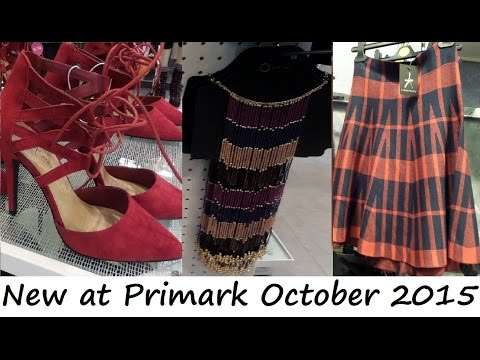 Everything New at Primark October 2015 | Alles Neu bei Primark - Oktober 2015 | IlovePrimark