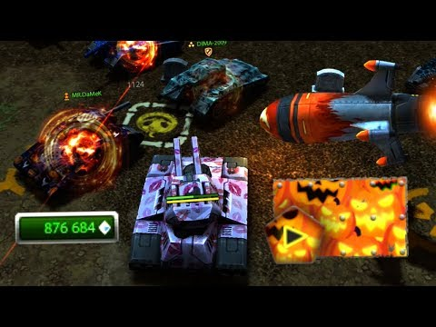 Halloween Juggernaut Gold Box Video in MM Battles | Tanki Online
