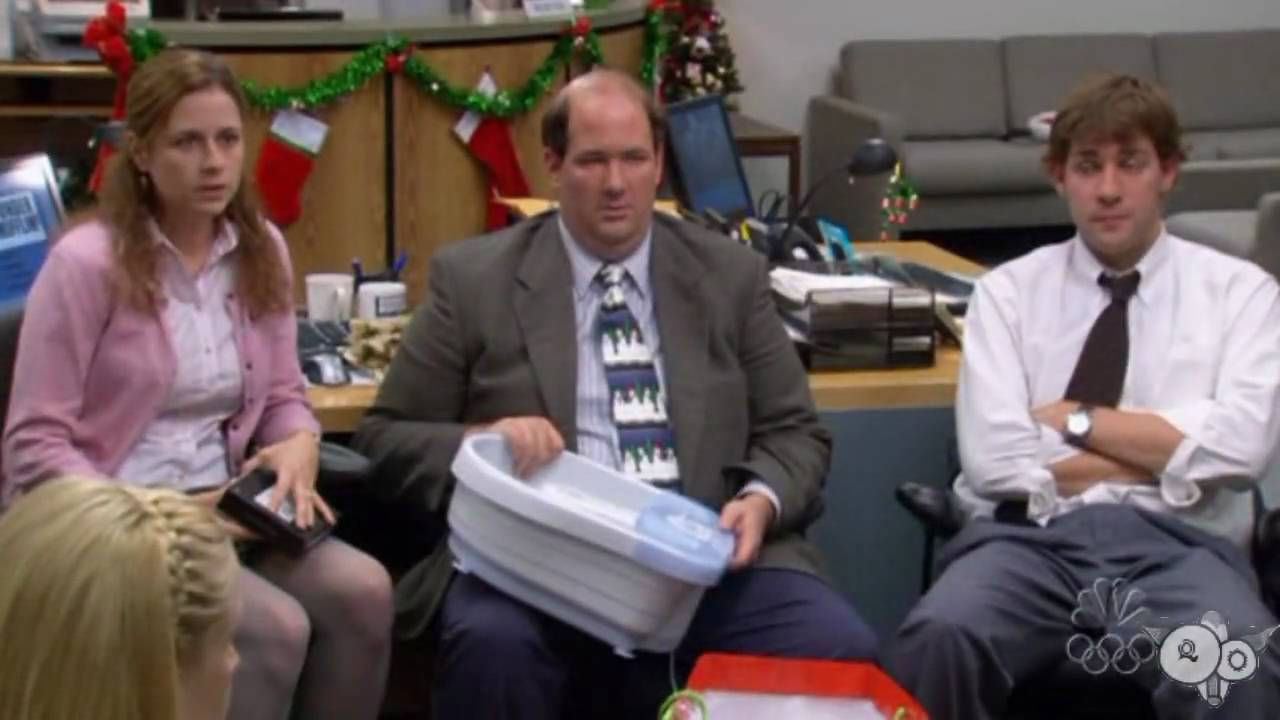 I Hate Christmas Parties - The Office (US) - Jim/Pam - YouTube