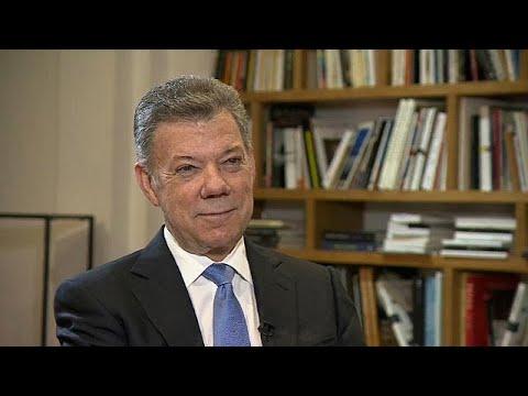 الرئيس الكولومبي ليورونيوز: اتهمت بمحاولة وضع البلاد على منحى كاسترو وتشافيز …  - 19:21-2018 / 6 / 4
