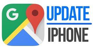Update Google Maps | How to Update Google Maps App in iPhone XS iPhone 8 iPhone 7 iPhone 6 iPhone 5S