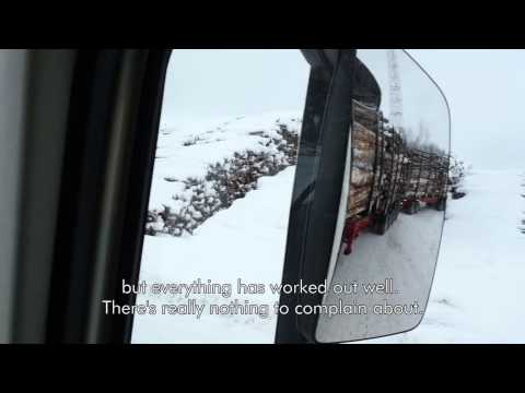Testing the timber truck of the future – UPM Metsä